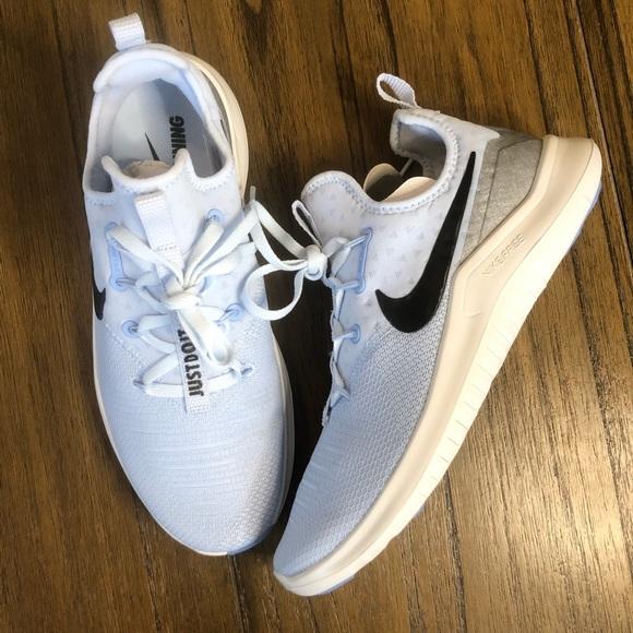 Nike Free Tr8 Light Blue Sneaker Shoe